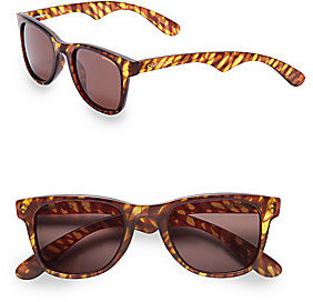 50MM Tortoise Wayfarer Sunglasses by Carrera