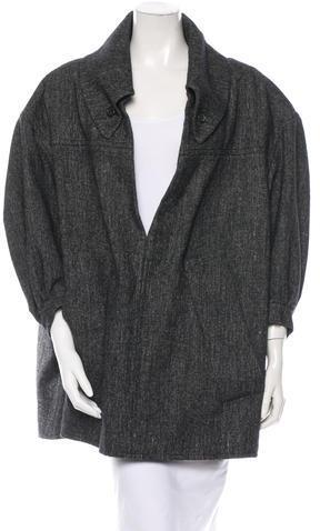 Yves Saint Laurent Wool Tunic by Saint Laurent