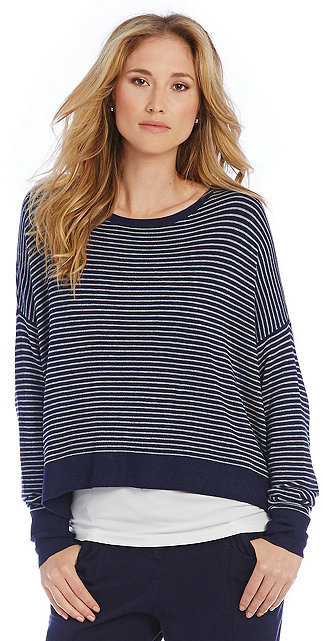 Eileen Fisher Petite Crew Neck Box-Top by Eileen Fisher