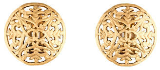 Chanel CC Thistle Earrings by Chanel