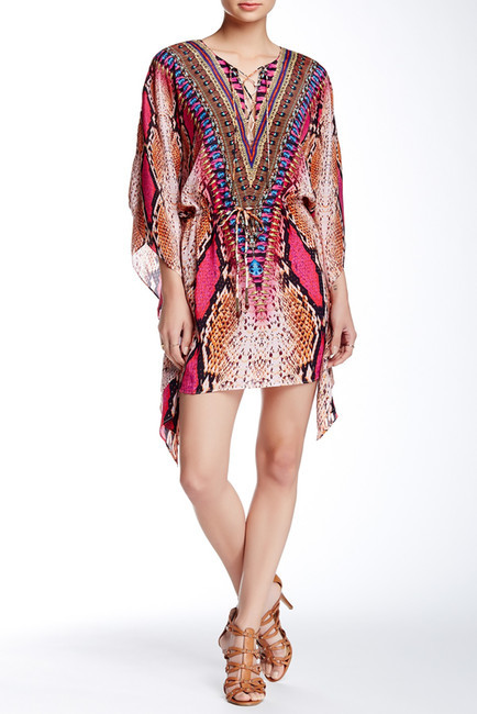Parides Silk Kaftan by Nordstrom Rack