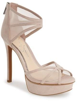 Jessica Simpson 'Ceyanna' Platform Sandal (Women) by Jessica Simpson