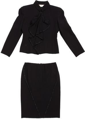 Valentino Wool Skirt Suit by Valentino