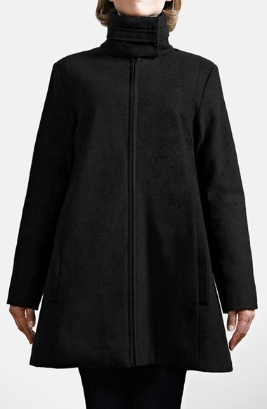 Modern Eternity A-Line Convertible Maternity Swing Coat by Nordstrom