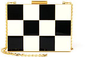 Valentino Minaudiere Checked Clutch by Valentino
