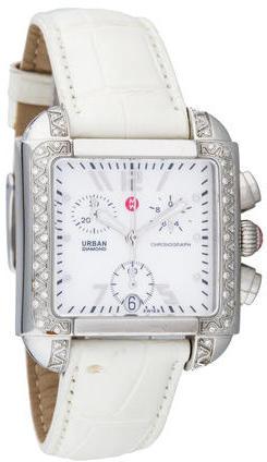 Michele Diamond Urban Chronograph Watch by Michele
