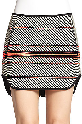 Bess Striped Skirt by Rag and Bone